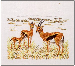 click here to view larger image of Gazelles (chart)