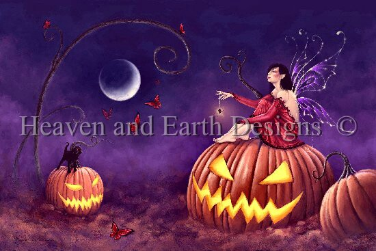 click here to view larger image of Pumpkin Pixie (chart)