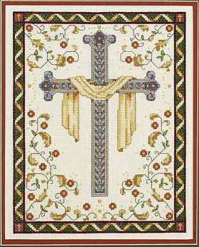 click here to view larger image of His Cross (counted cross stitch kit)