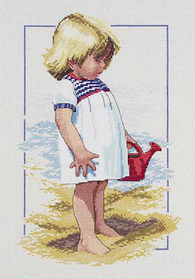 click here to view larger image of Summer Afternoon (counted cross stitch kit)