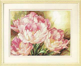 click here to view larger image of Tulip Trio (counted cross stitch kit)