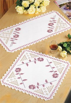 click here to view larger image of Hardanger Roses (Hardanger and Cut Work)