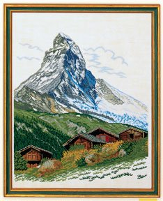 click here to view larger image of Matterhorn (counted cross stitch kit)