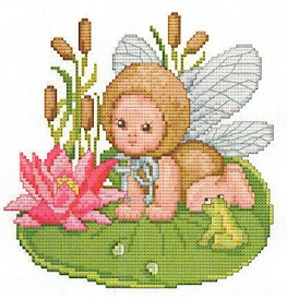 click here to view larger image of Dragonfly Baby (chart)