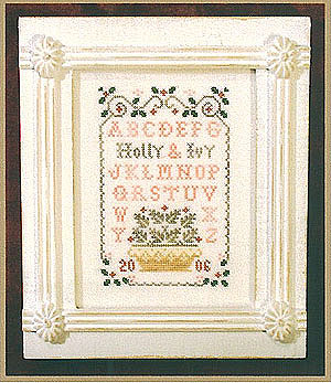 click here to view larger image of Holly & Ivy Sampler (chart)
