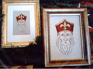 click here to view larger image of Fleur De Lis Santa (chart)
