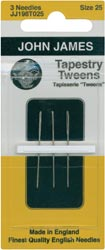 click here to view larger image of John James - Tapestry Tween Hand Needles (needles)
