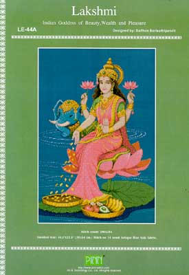 click here to view larger image of Lakshmi (Indian Goddess) (chart)