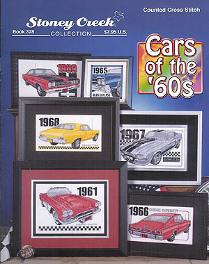 click here to view larger image of Cars of the 60's (book)