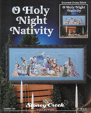 click here to view larger image of O Holy Night Nativity (chart)