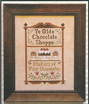 click here to view larger image of Chocolate Shoppe (chart)