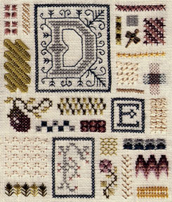 click here to view larger image of Sampler of Stitches - Part Two DEF (chart)