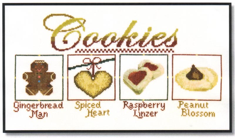 click here to view larger image of Cookie Sampler I (chart)