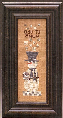 click here to view larger image of Check It Out Ode To Snow (chart)