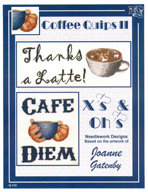 click here to view larger image of Coffee Quips II (chart)