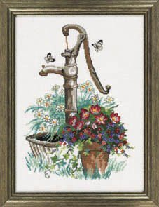 click here to view larger image of Water Pump (counted cross stitch kit)