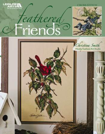 click here to view larger image of Feathered Friends - Christina Smith (book)