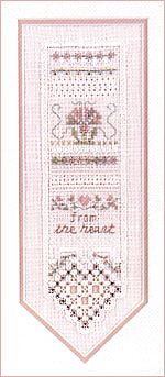 click here to view larger image of Antique Lace Sampler (chart)