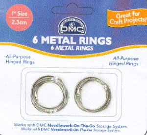 "click here to view larger image of Metal Rings 1"" (accessory)"