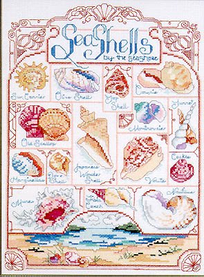 click here to view larger image of Seashell Sampler (chart)