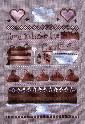 click here to view larger image of Chocolate Cake Sampler (chart)