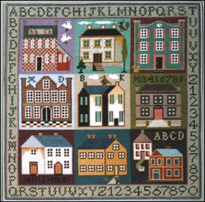 click here to view larger image of Sampler Houses (chart)
