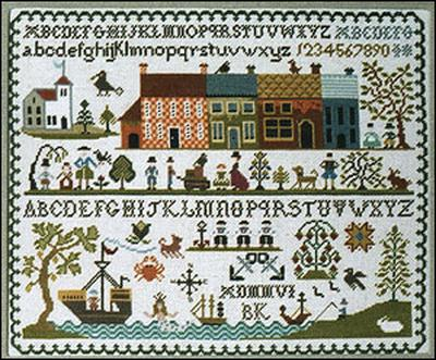 click here to view larger image of New England Sampler (chart)