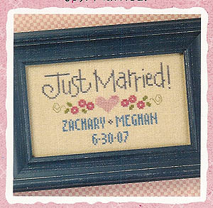 click here to view larger image of Just Married - Snippet (chart)