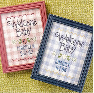click here to view larger image of Welcome Baby - Snippet (chart)