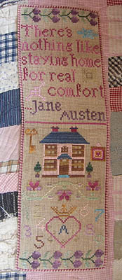click here to view larger image of At Home With Jane Austen Sampler (chart)