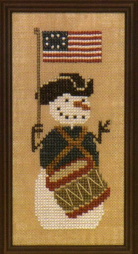 click here to view larger image of Freedom Drummer Boy (counted cross stitch kit)