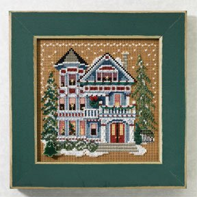 click here to view larger image of Queen Anne House (button-bead kit)