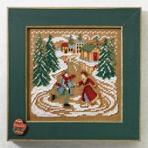 click here to view larger image of Skating Pond (2007) (button-bead kit)
