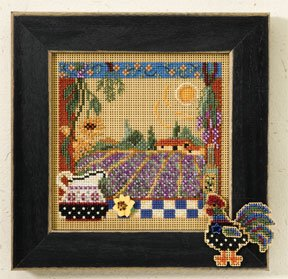 click here to view larger image of Lavender Fields (button-bead kit)