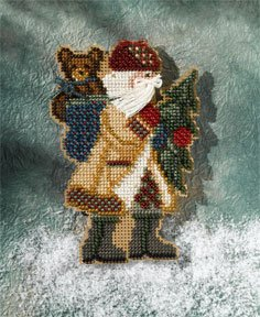 click here to view larger image of Allegheny Santa (2007) (counted cross stitch kit)