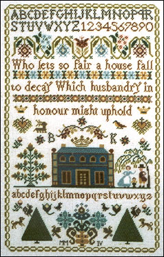 click here to view larger image of Husbandry In Honour Sampler (chart)
