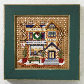 click here to view larger image of Apothecary (2007) (counted cross stitch kit)
