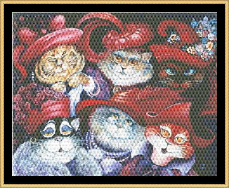 click here to view larger image of Red Hat Cats (chart)
