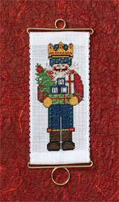 click here to view larger image of Bearing Gifts (counted cross stitch kit)