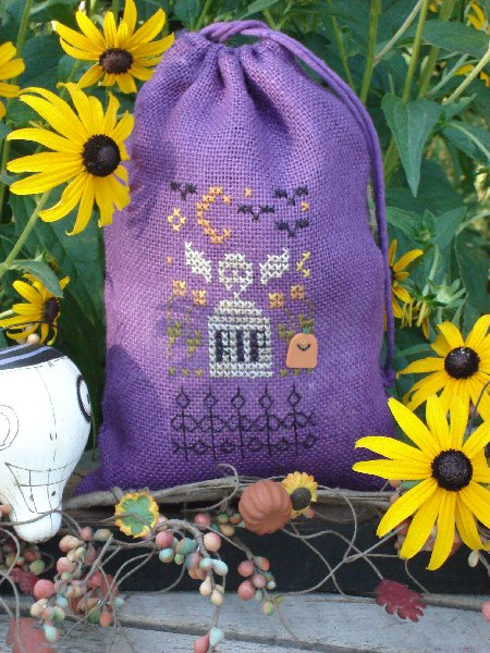click here to view larger image of RIP Bag (counted cross stitch kit)