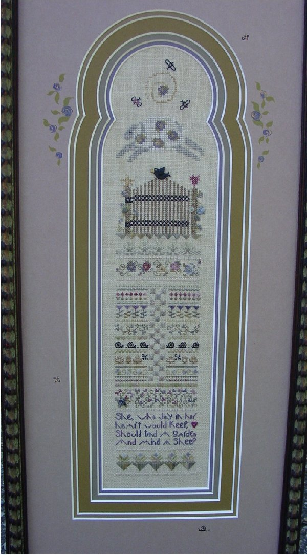 click here to view larger image of Garden Gate (counted cross stitch kit)