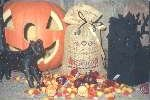 click here to view larger image of Halloween Treat Bag (counted cross stitch kit)
