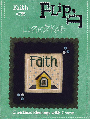 click here to view larger image of Flip-It Faith (w/charm) - 12 blessings series (chart)