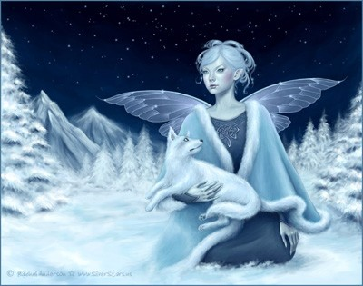 click here to view larger image of Winter Fairy (chart)