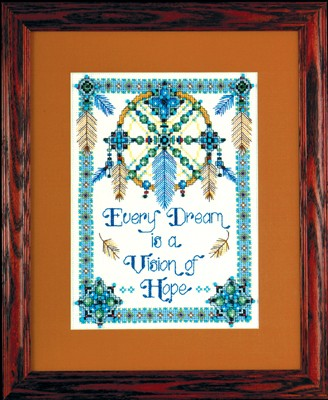 click here to view larger image of Vision Of Hope (counted cross stitch kit)