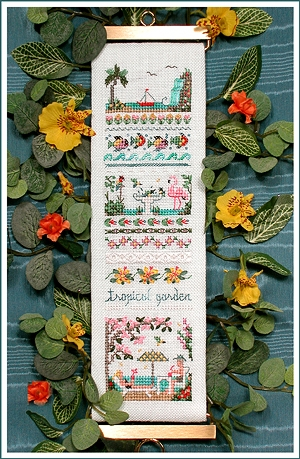 click here to view larger image of Tropical Garden Sampler (chart)