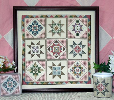 click here to view larger image of Quilt Sampler III - Star Blocks (chart)