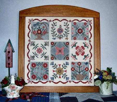 click here to view larger image of Quilt Sampler I (chart)