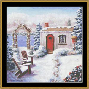click here to view larger image of Winter Cottage (chart)