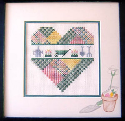 click here to view larger image of Gardening Heart (chart)